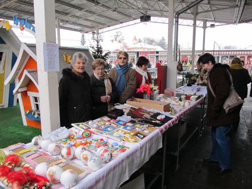 Božićni sajam na gradskoj tržnici
