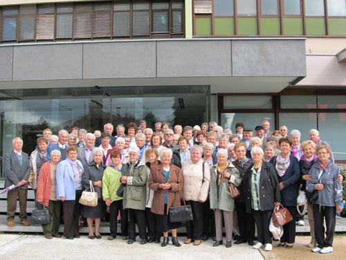 Posjet udruge umirovljenika iz Nagyatada