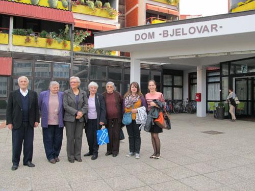 Naši korisnici na sportskim susretima u Domu za starije i nemoćne osobe Bjelovar