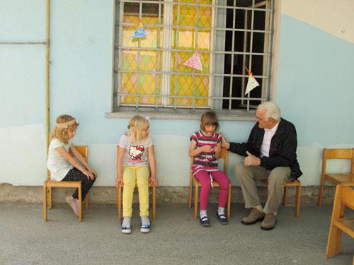 Druženje s vrtićarcima iz Ivančice