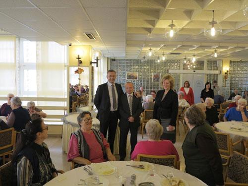 Župan Koren u posjetu povodom Međunarodnog dana starijih osoba