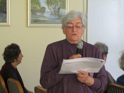 Predavanje Terezije Horvat o J.J.Strossmayeru
