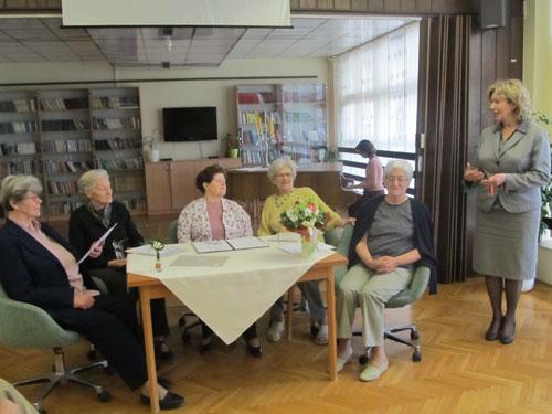 Pjesnički susret sa Milicom Pocza i prijateljicama