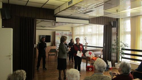 Predavanje mladeži Crvenog križa