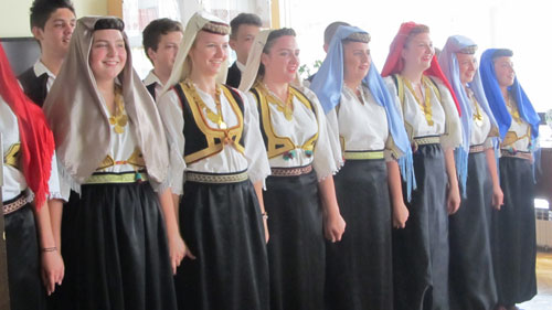 "X.Međunarodni Festival folklora ""Iz bakine škrinje"""