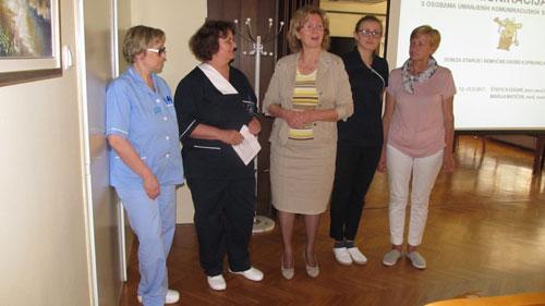 Predavanje medicinskih sestara Štefice Sodar i Mateje Besten