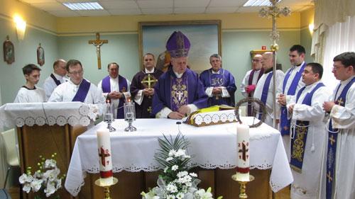 Posjet biskupa Josipa Mrzljaka
