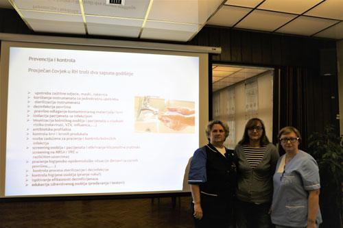 Predavanje medicinske službe za zaposlenike