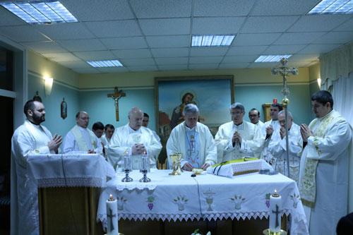 Sveta misa koju je predvodio mnsr. Josip Mrzljak