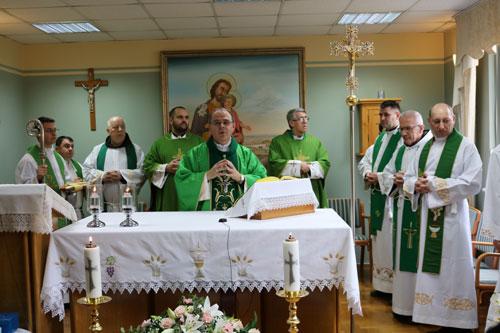 Posjet biskupa Varaždinske Biskupije, mnsr. Bože Radoša