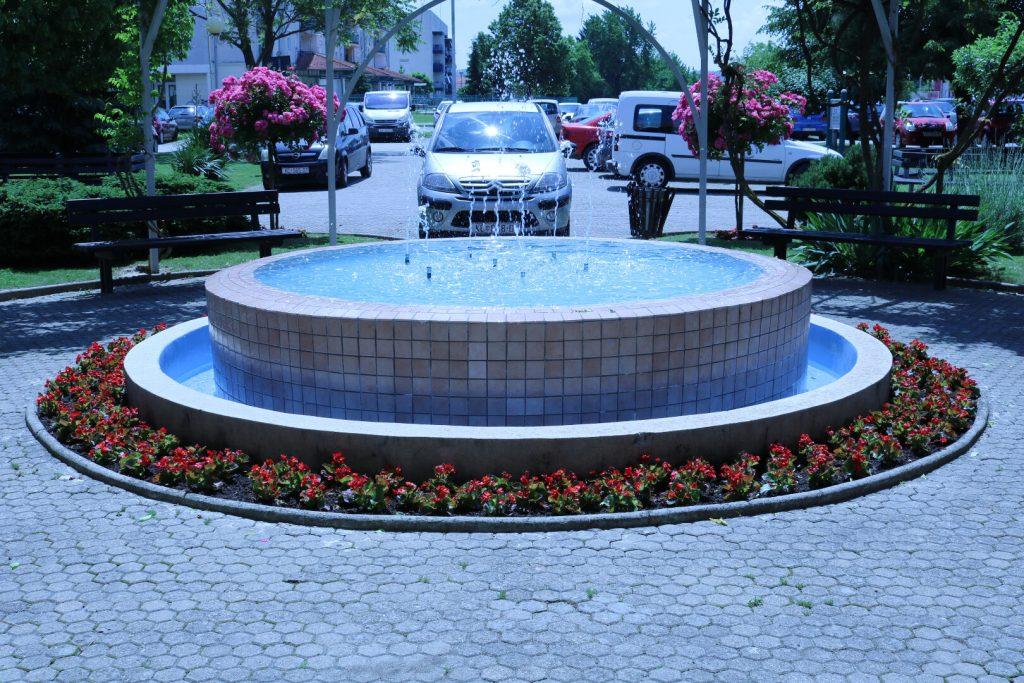 dom koprivnica - fontana