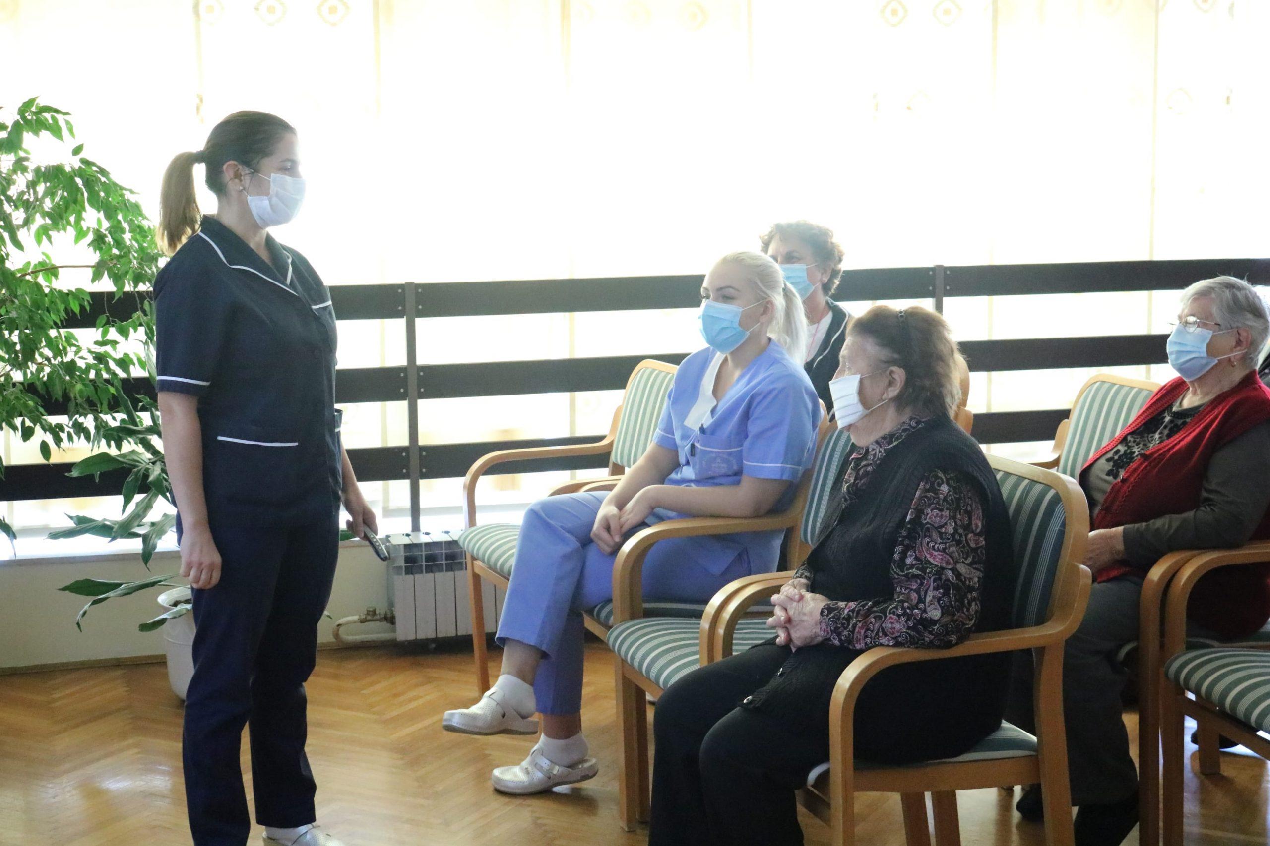 Predavanje medicinske službe Doma